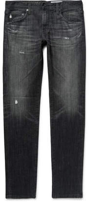 AG Jeans Dylan Skinny-Fit Distressed Denim Jeans