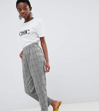 Vero Moda Petite Check Trouser