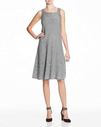 Nic+Zoe Modern Stud Knit Dress