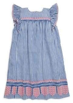 Roller Rabbit Little Girl's& Girl's Lyle Striped Cotton Dress