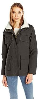 Madden Girl Women's Wax Cotton Utility Jacket $35.29 thestylecure.com