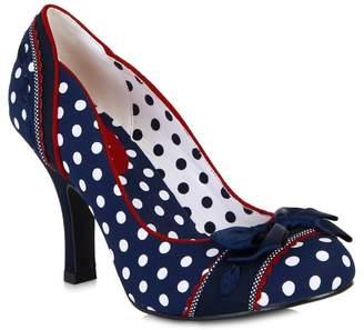 Ruby Shoo Women's Amy Spots Low Heel Court Shoe Pumps Uk 3 - Eu 36 - Us 5