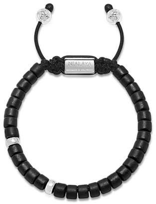 NIALAYA Tulum Ceramic Bead Bracelet