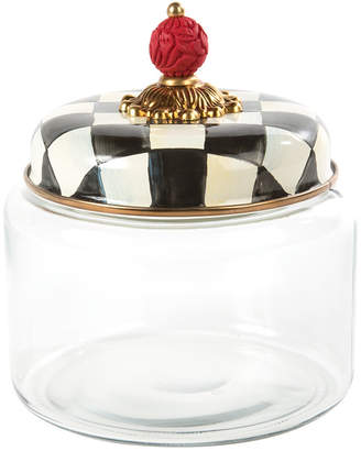 Mackenzie Childs MacKenzie-Childs - Courtly Check Kitchen Canister - Small