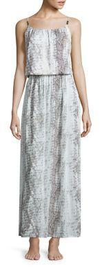 HEIDI KLEIN Alahambra Drop Waist Dress $320 thestylecure.com