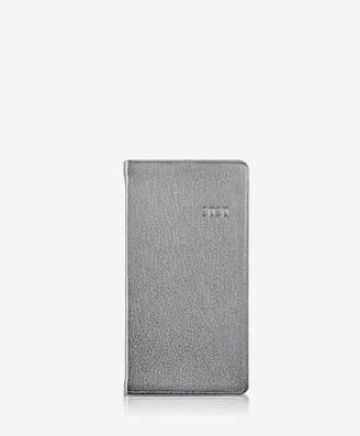 "GiGi New York 2019 6"" Pocket Datebook, Rose Gold Metallics Leather"