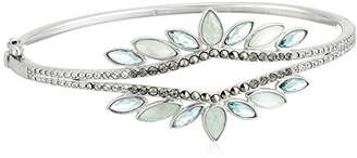 At Judith Jack Sterling Silver And Swarovski Marcasite Bangle Bracelet