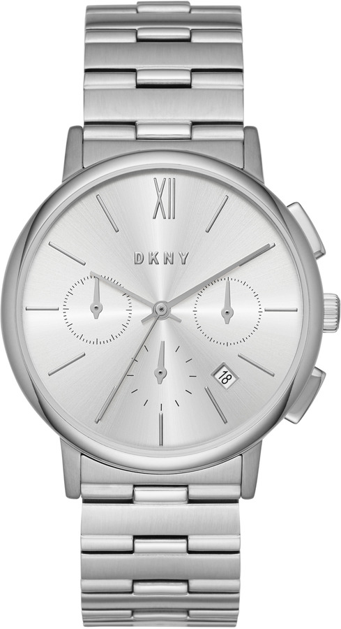 DKNYWilloughby Stainless Steel Chronograph Watch