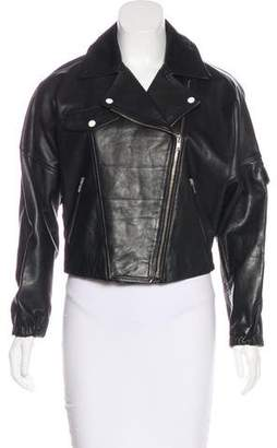 Band Of Outsiders Leather Biker Jacket