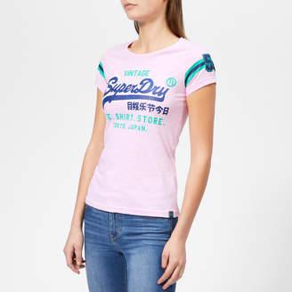 Superdry Women's Shirt Shop Varsity Entry T-Shirt