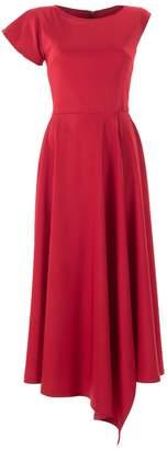 Emelita - Red Evening Gown Maxi Dress