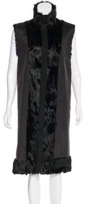 Dolce & Gabbana Goat-Hair Paneled Vest