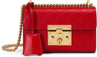 Gucci Padlock small Signature shoulder bag