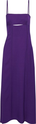 3.1 Phillip Lim Cutout Pleated Crepe Gown