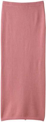 Whim Gazette (ウィム ガゼット) - ウィム ガゼット プレーティングニットスカート
