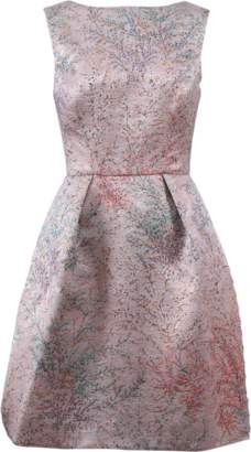 Monique Lhuillier Jacquard Dress