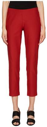 Eileen Fisher Washable Stretch Crepe Slim Ankle Pants Women's Casual Pants