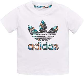adidas Baby Girls Zoo Tee