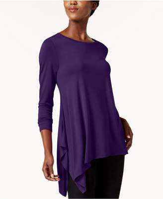 Alfani Asymmetrical-Hem Top