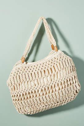 Cleobella Ellery Crocheted Beach Tote Bag