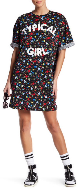 Love MoschinoLOVE Moschino Typical Girl Floral Dress