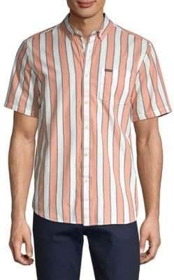 Volcom Striped Button-Down Shirt