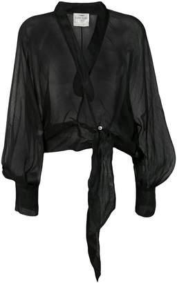 Forte Forte tie-front jacket