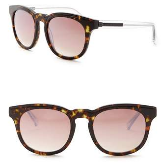 Elie Tahari 52mm Rounded Sunglasses