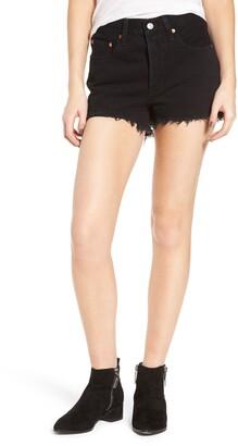 Levi's 501® High Rise Denim Shorts