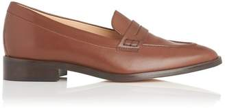 LK Bennett Iona Brown Leather Flats