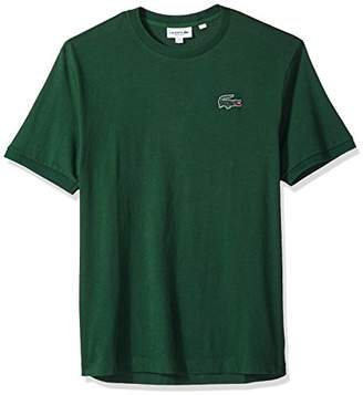 Lacoste Men's Short Sleeve Vintage Croc Jersey Regular Fit T-Shirt