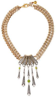 Lulu Frost Brigitte Chandelier Pendant Necklace $350 thestylecure.com