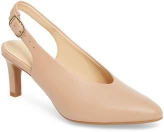 Clarks R) Calla Violet Kitten Heel Pump