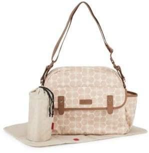 Babymel Printed Zip-Top Shoulder Bag
