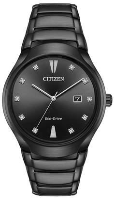 Citizen Men's Eco-Drive Quartz Stainless Steel Watch, 40mm