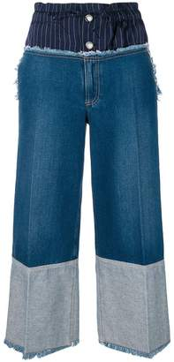 Sonia Rykiel wide-leg denim trousers
