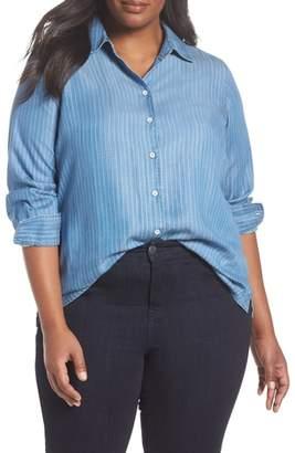 Foxcroft Addison Stripe Shirt