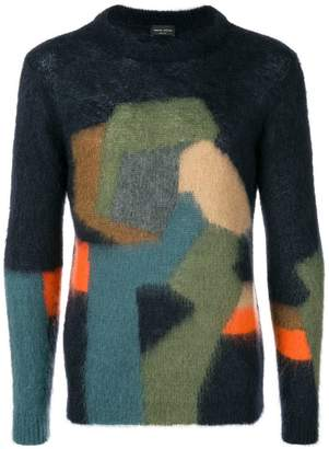 Roberto Collina fitted crew neck jumper