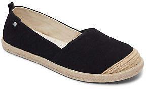 Roxy NEW ROXYTM Womens Flora II Textile Espadrille Shoe Womens Footwear
