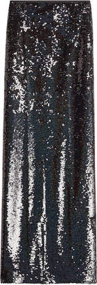 McQ Sequin Maxi Skirt with Slit