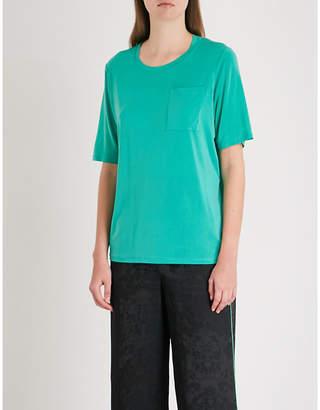 Maje Tonic woven T-shirt