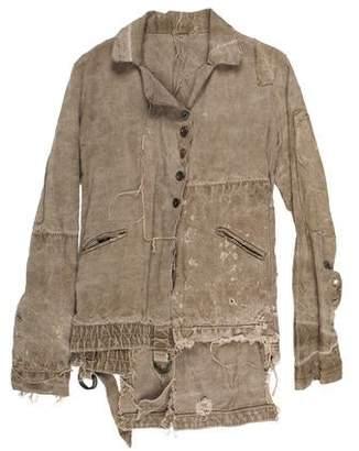 Greg Lauren The Eastwood Dickens Distressed Jacket