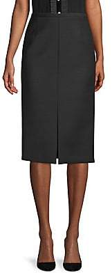 Michael Kors Women's Stretch Gabardine Pencil Skirt - Size 0
