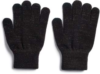 So Women's SO Lurex Tech Knit Gloves