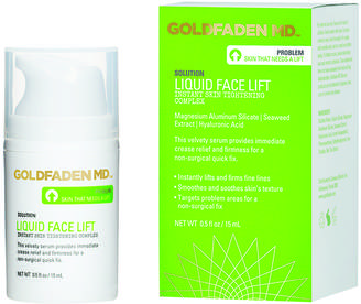 Goldfaden Liquid Face Lift Instant Skin Tightening Complex