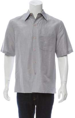 Cerruti Short Sleeve Button-Up Shirt