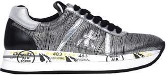 Premiata Conny 2972 Silver Sneakers