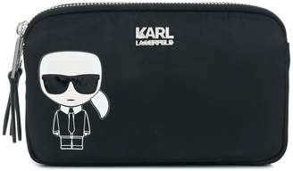 Karl Lagerfeld Ikonik pouch