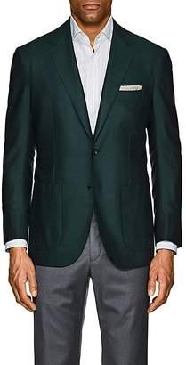 Sartorio Men's PG Herringbone Silk-Wool Two-Button Sportcoat