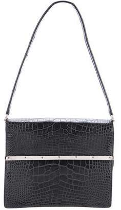 Ralph Lauren Vintage Alligator Flap Bag